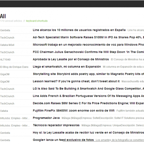 Feedly, el gran beneficiado del adios de Google Reader
