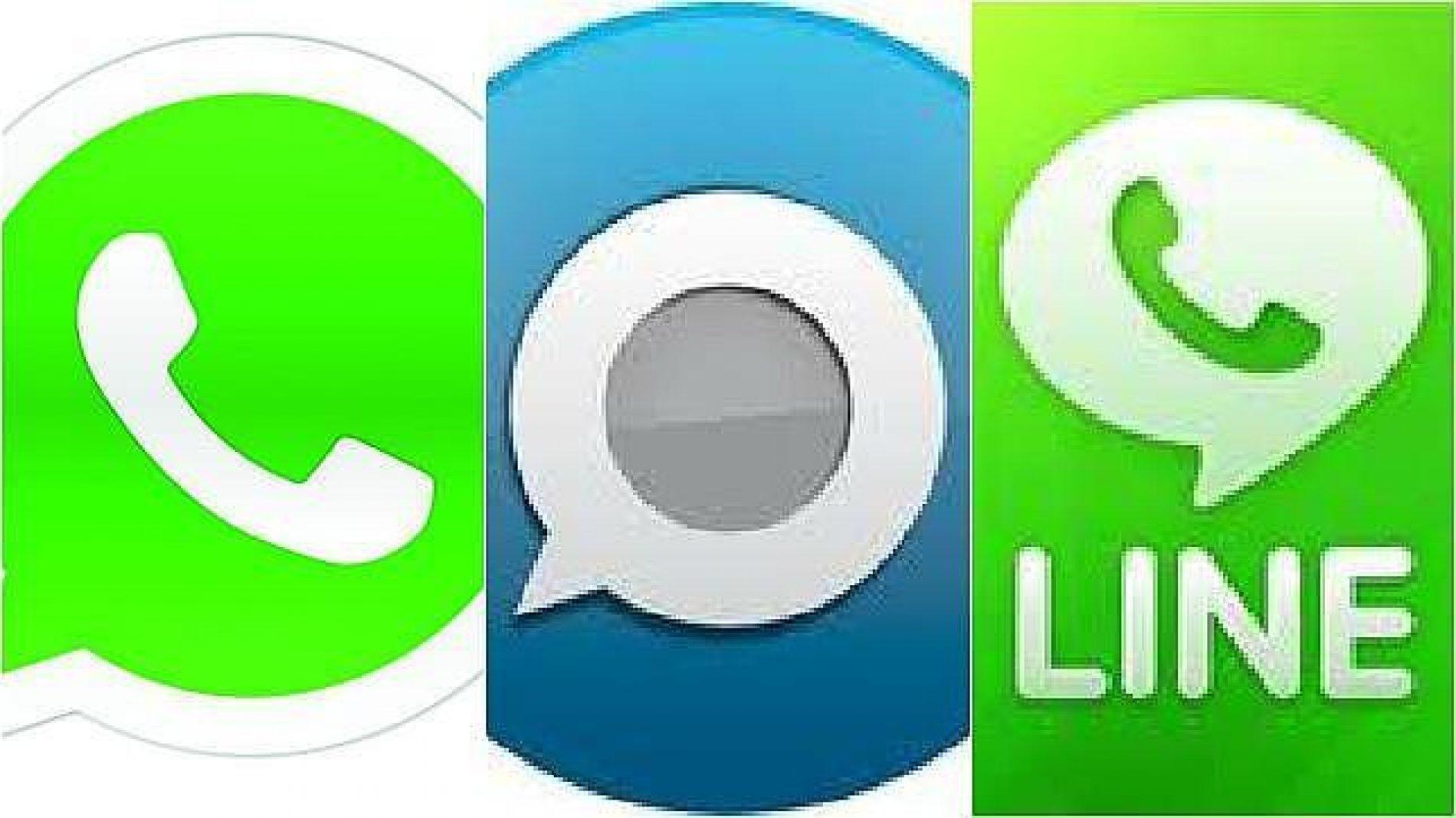 Momento clave en la mensajería instántanea (Line, Spotbros y Whatsapp)