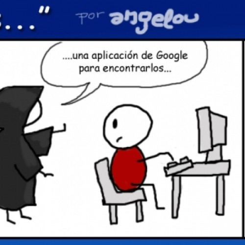 """[comic] La privacidad en Google: """"Si total, es gratis"""""""