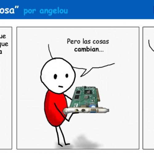 "[comic] La ley del hardware: ""Obsolescencia amorosa"""
