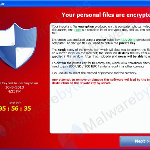 CryptoLocker: ¡Cuidado, que no secuestren tus datos!