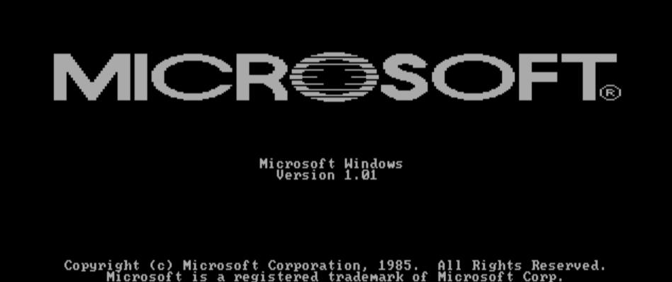 microsoft windows 1