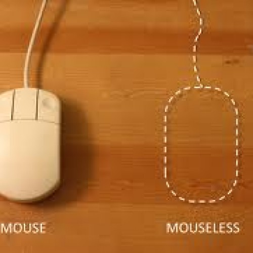 Mouseless, el ratón invisible.