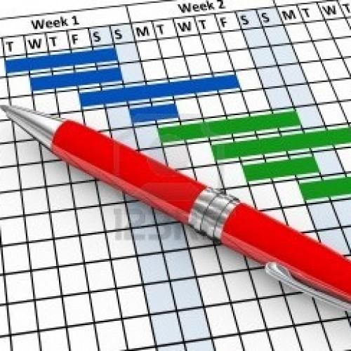 Diagramas de Gantt en Excel, Google Docs y Open Office